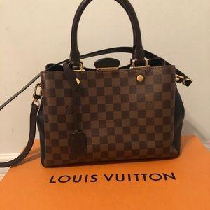 Louis Vuitton Brittany Damier Bag Authentic